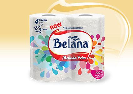 Тоалетна хартия Melinda Prim