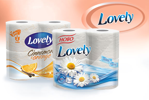 Lovely – нашият нов бранд
