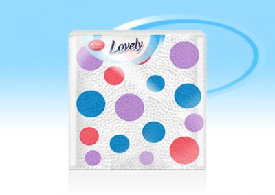 Салфетки Lovely Dots