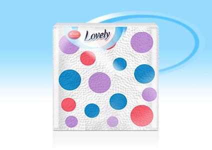 Салфетки Lovely Dots